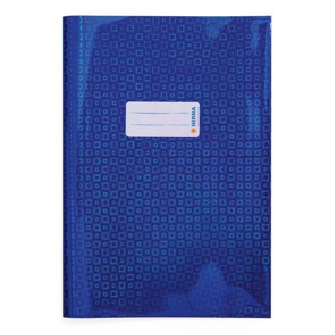 Heftschoner DIN A4 - Glamour - blau