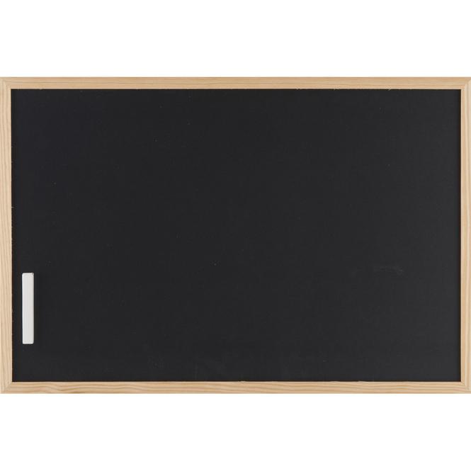 Kreidetafel mit Holzrahmen - ca. 60 x 40 cm