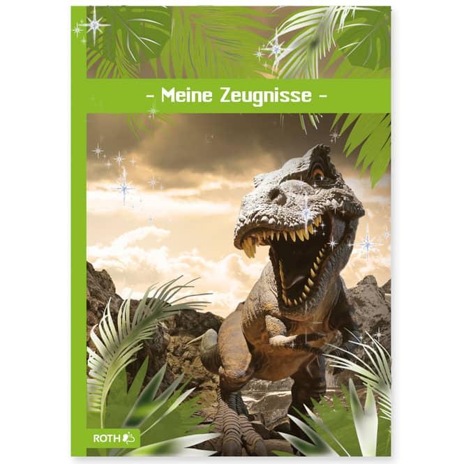 Zeugnismappe - Tyrannosaurus - DIN A4