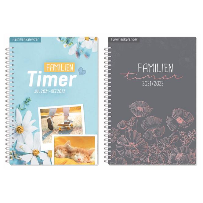 Familien-Timer - 2021/2022 - 1 Stück