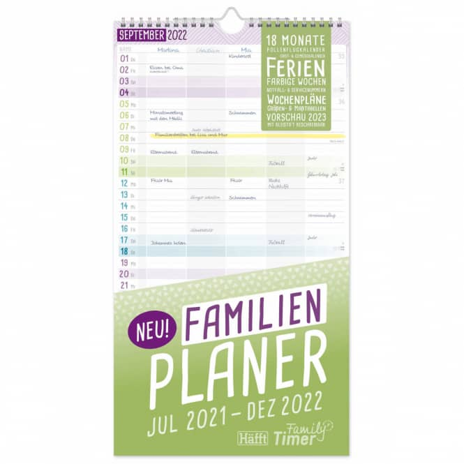 Familienplaner - 2021/2022