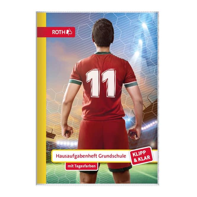 Hausaufgabenheft  - Soccer - DIN A5