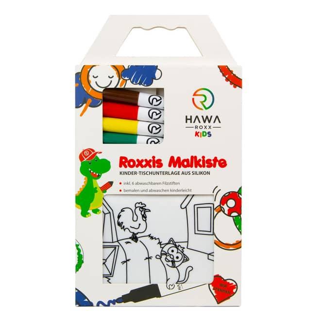 Roxxies Malkiste - Ausmalset inkl. Stifte - Bauernhof