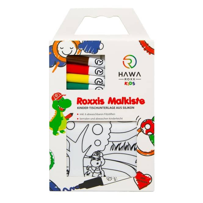 Roxxies Malkiste - Ausmalset inkl. Stifte - Zoo