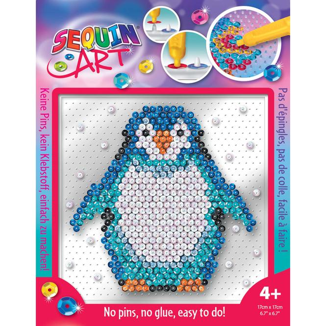 Sequin Art Easy - Pinguin