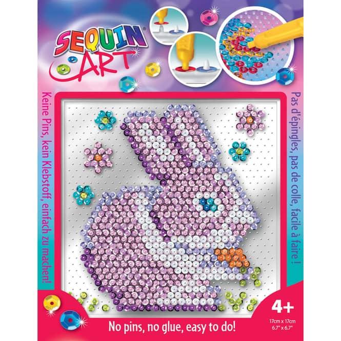 Sequin Art Easy - Häschen