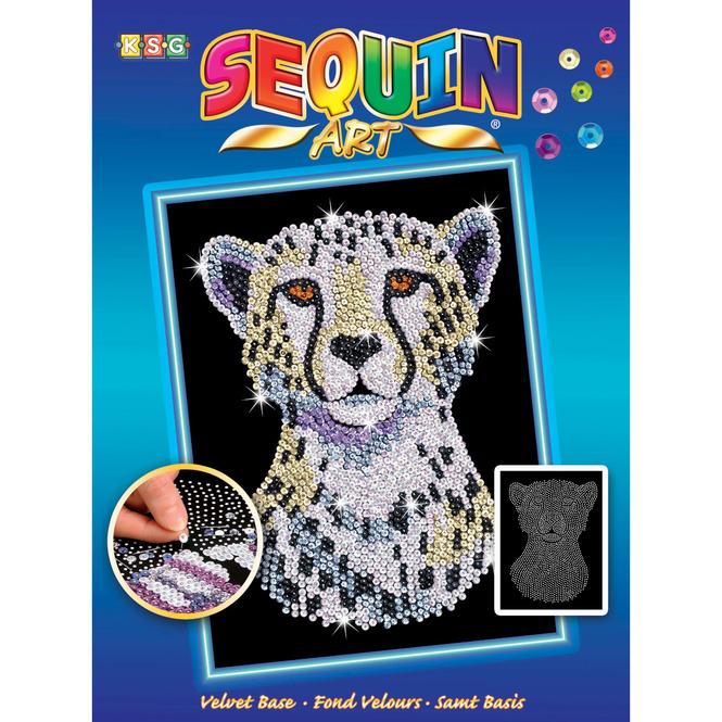 Sequin Art Blue - Gepard