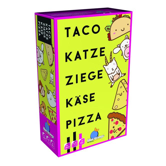 Taco Katze Ziege Käse Pizza - Partyspiel