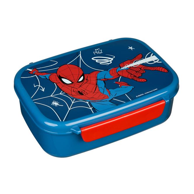 Spiderman - Scooli Brotdose - mit Einsatz