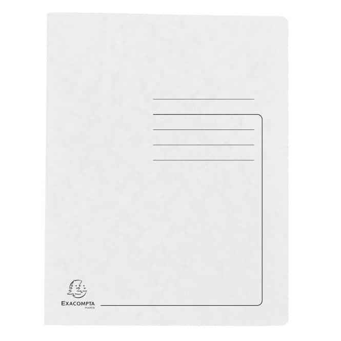 Schnellhefter A4 - Colorspan-Karton - weiß