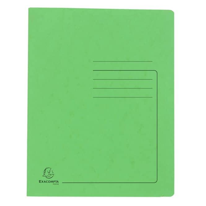 Schnellhefter A4 - Colorspan-Karton - grün