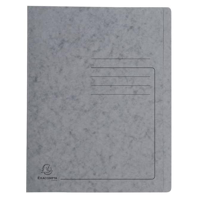 Schnellhefter A4 - Colorspan-Karton - grau