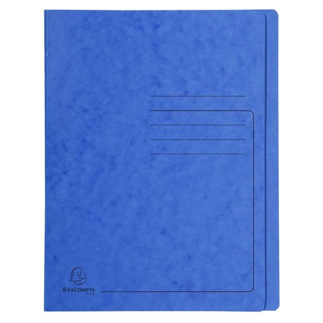 Schnellhefter A4 - Colorspan-Karton - blau