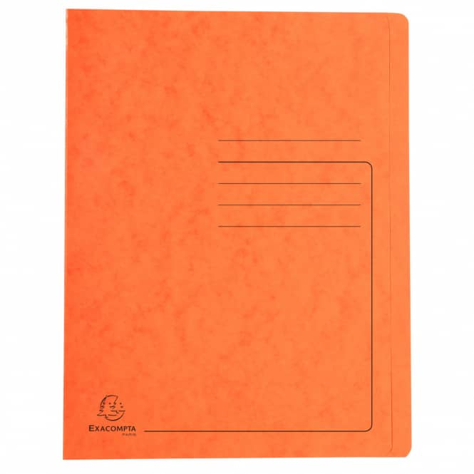 Schnellhefter A4 - Colorspan-Karton - orange