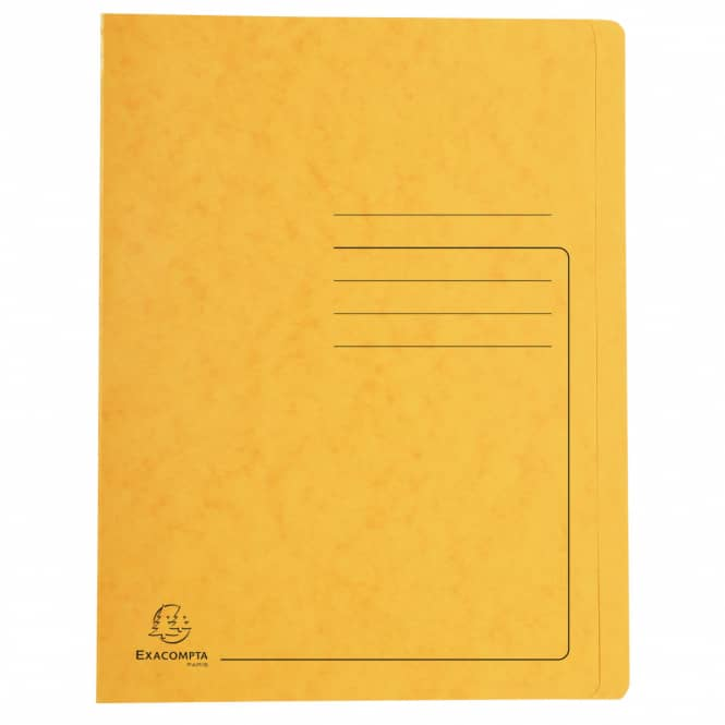 Schnellhefter A4 - Colorspan-Karton - gelb