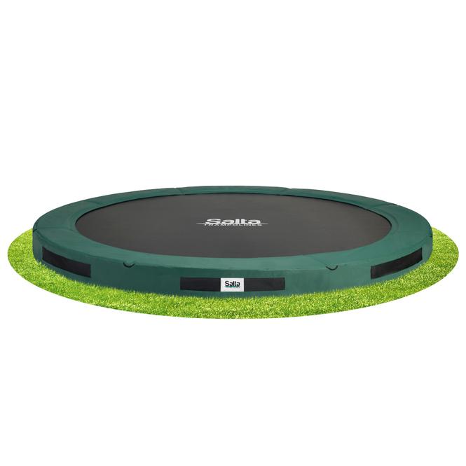 Salta - Bodentrampolin - Premium Ground - Durchmesser 366 cm - grün