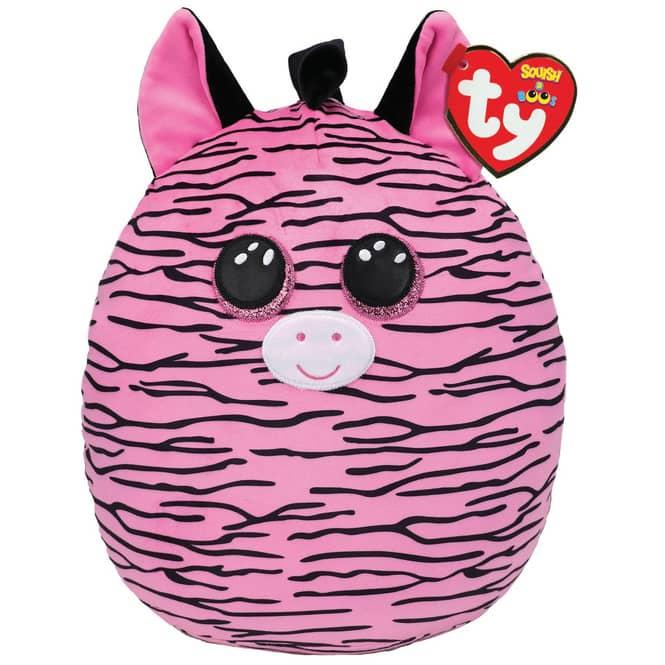 Squish a Boo - Plüsch Kissen - Zebra Zoey - ca. 23 cm - Ty