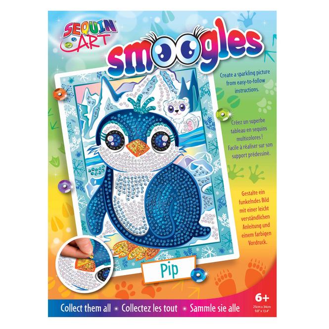 Sequin Art Tiere - Pinguin
