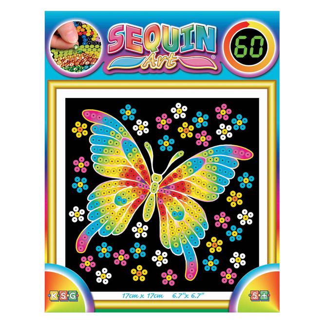 Sequin Art 60 - Schmetterling
