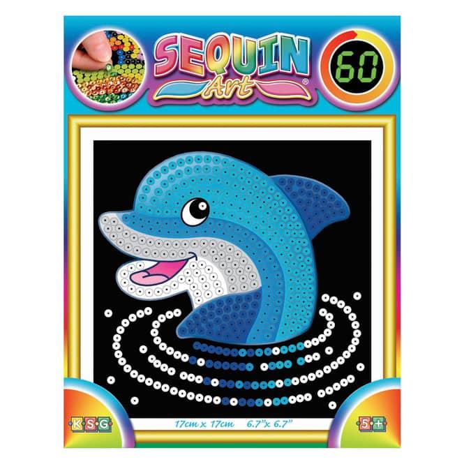 Sequin Art 60 - Delfin