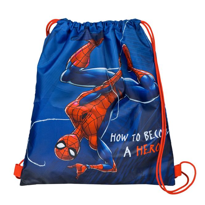Spiderman - Turnbeutel - dunkelblau/rot