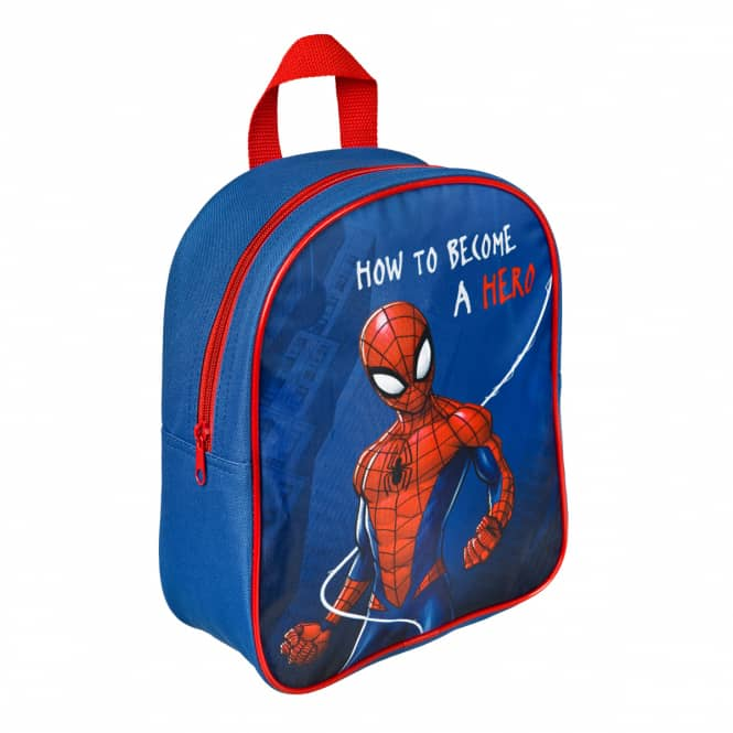 Spiderman - Rucksack - dunkelblau/rot