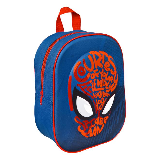 Spiderman - 3D Rucksack - dunkelblau/rot