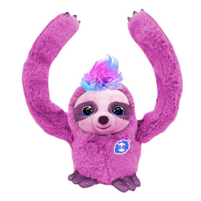 Party Pets - Plüsch-Faultier - Slowy - pink