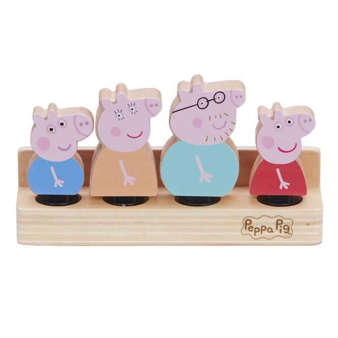 Peppa Wutz - Holzfiguren - Set