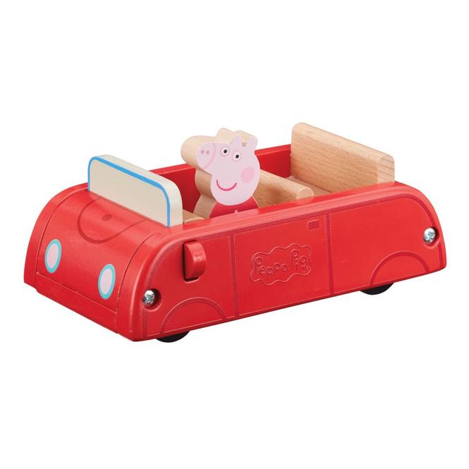 Peppa Wutz - Rotes Auto - aus Holz