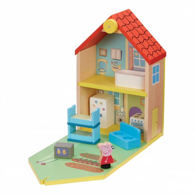 Peppa Wutz - Familienhaus - aus Holz