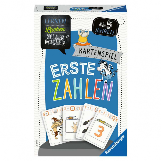 Erste Zahlen - Kartenspiel - Ravensburger