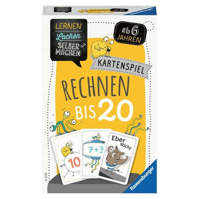 Rechnen bis 20 - Kartenspiel - Ravensburger