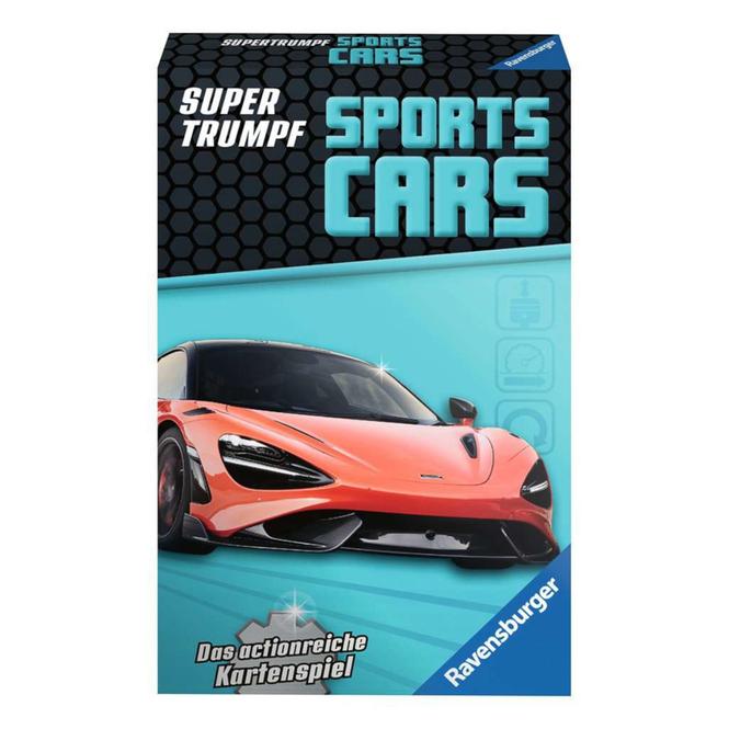 Sports-Cars - Trumpf Kartenspiel - Ravensburger