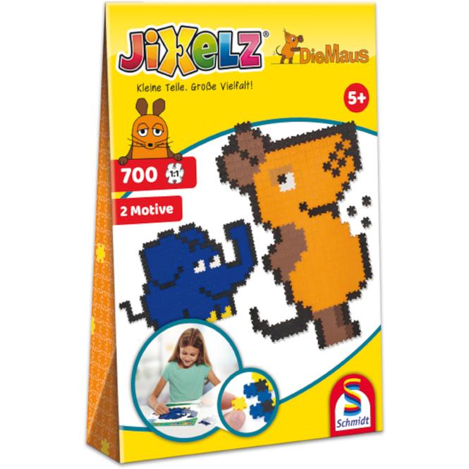 Die Maus - Jixels - 2 Motive - 700 Teile