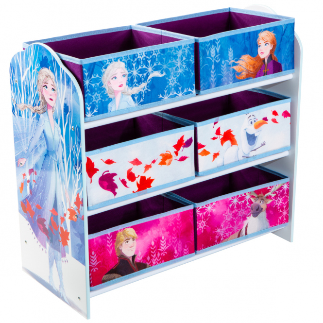 Die Eiskönigin 2 - Regal mit 6 Boxen