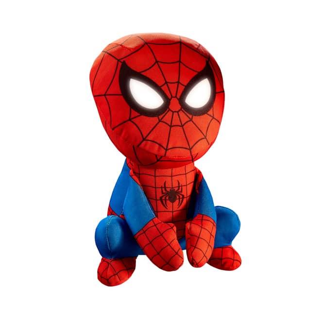 Spiderman - 2-in-1 Nachtlicht und Kuscheltier