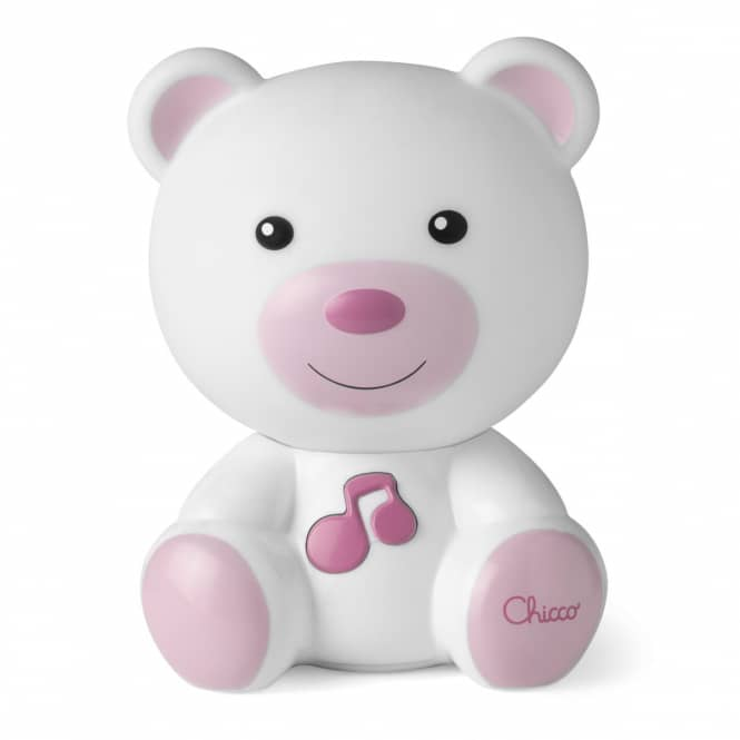 Chicco - Traumlicht Bär - pink