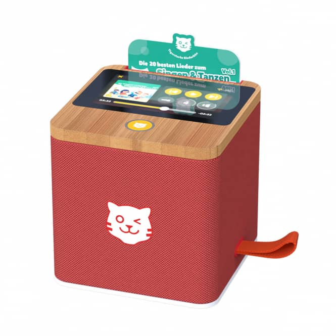 tigerbox - TOUCH - rot - inkl. Startpaket