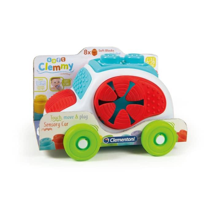 Clemmy - Sensorisches Auto - Clementoni