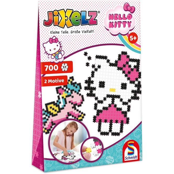 Hello Kitty - Jixelz - 2 Motive - 700 Teile