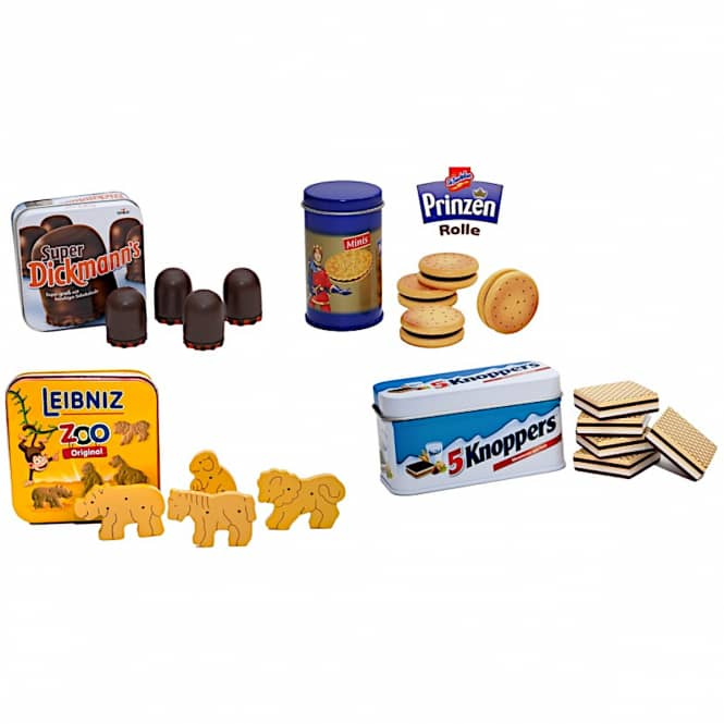 Kaufladenzubehör - Keks-Sortiment