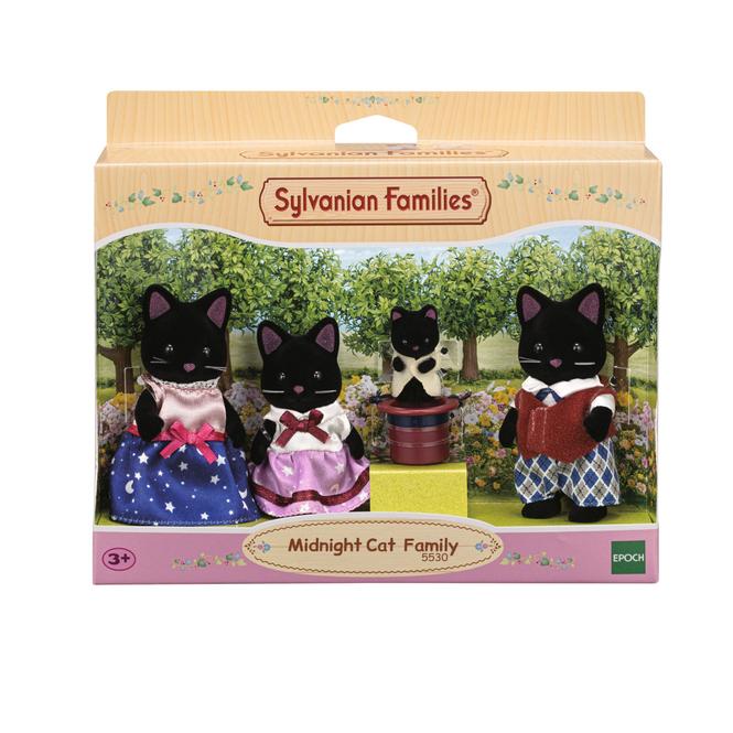Sylvanian Families - Schwarze Katzen Familie