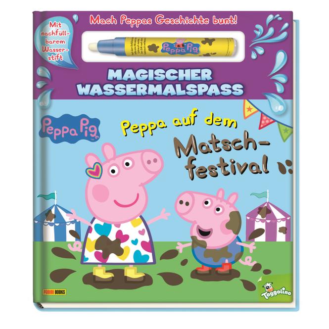 Peppa Wutz - Peppa auf dem Matschfestival - Magischer Wassermalspaß