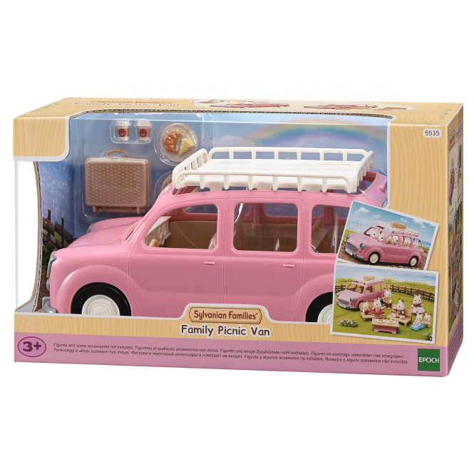 Sylvanian Families - Familienauto mit Picknickzubehör