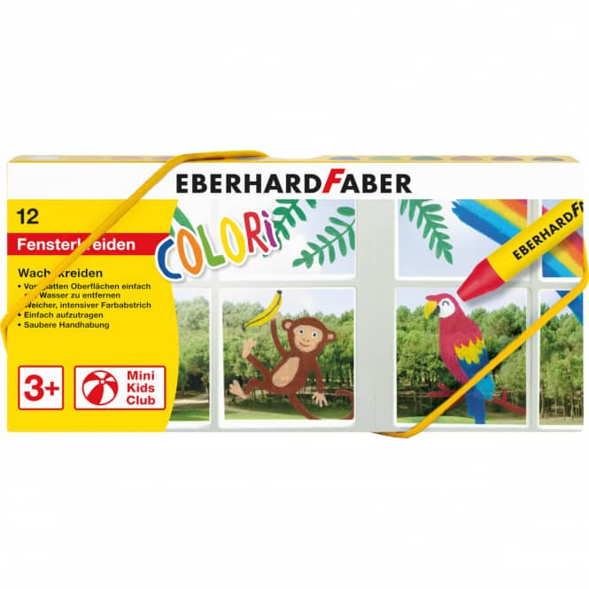 Eberhard Faber - Fenster- Wachsmalkreide - COLORI