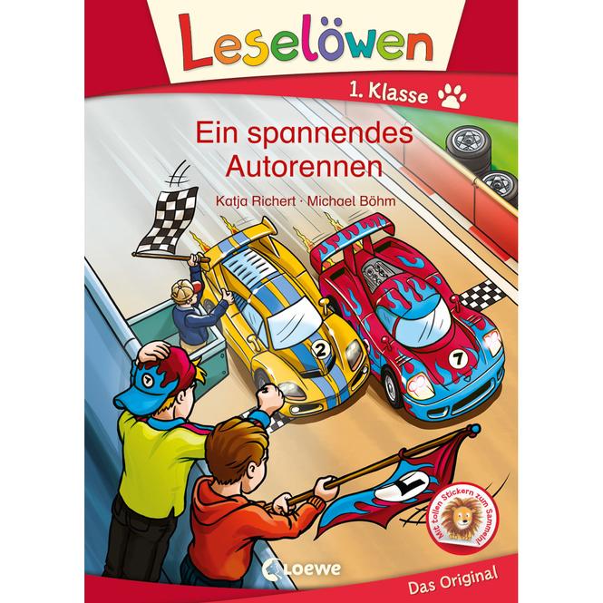 Ein Spannendes Autorennen - Leselöwen 1.Klasse