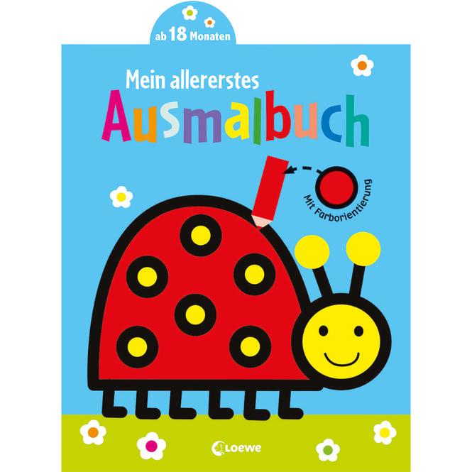 Mein allererstes Ausmalbuch - Marienkäfer