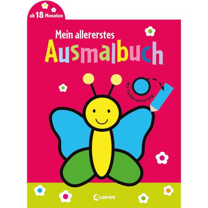 Mein allererstes Ausmalbuch - Schmetterling