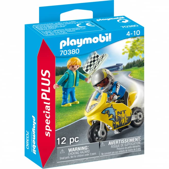 Playmobil® 70380 - Jungs mit Racingbike - Playmobil® Special Plus